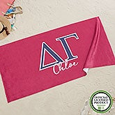 Delta Gamma Personalized Beach Towel - 20074