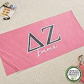 Delta Zeta Personalized Beach Towel - 20076