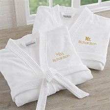 Mr & Mrs Personalized Robes For Couples - 20083