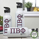 Personalized Pi Beta Phi Water Bottle - 20098
