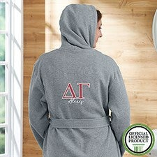 Delta Gamma Personalized Sweatshirt Robe - 20107
