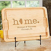 Home State Personalized Cutting Boards - 20129