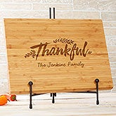 Cozy Home Personalized Bamboo Cutting Board - 20130