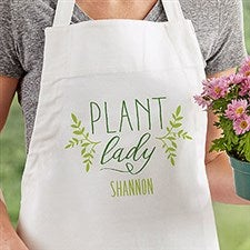 Plant Lady Personalized Gardening Apron - 20136