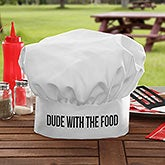 Personalized Chef Hat - Add Any Text - 20138