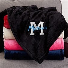 Personalized Boys Blankets - Name & Monogram - 20154