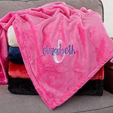 Personalized Girls Blankets - Name & Monogram - 20155