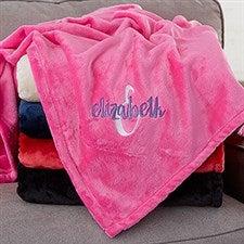 Personalized Girls Blankets - Name & Monogram - 20155