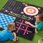 Personalized Classic Games Picnic Blanket - 20158