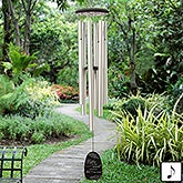 Personalized Memorial Wind Chimes - Listen To The Wind - 20175