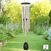 Pet Memorial Wind Chimes - Paw Prints On My Heart - 20177