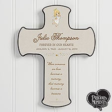 Precious Moments Personalized Memorial Cross - 20181