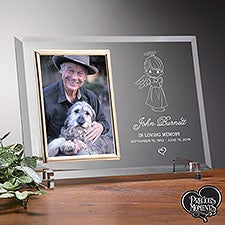 Precious Moments Angel Personalized Memorial Picture Frame - 20182