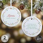 Personalized Precious Moments Festive Lights Ornament - 20189