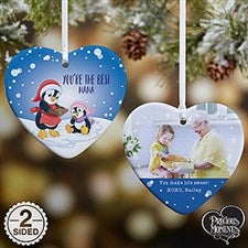 Personalized Precious Moments Penguin Heart Ornament - 20190