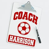 Personalized Clipboards For Soccer Coaches - 20199