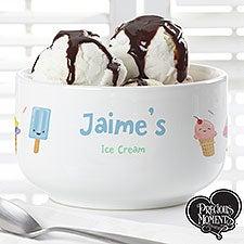 Precious Moments Personalized Ice Cream Bowl - 20205