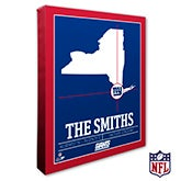 New York Giants Personalized NFL Wall Art - 20227