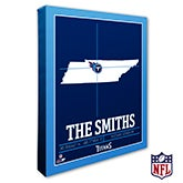 Tennessee Titans Personalized NFL Wall Art - 20235