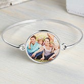 Personalized Photo Bangle Bracelet - 20242D