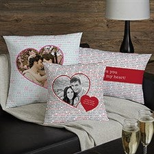 Personalized Photo Pillows - Love You This Much - 20258