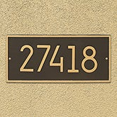 Personalized Address Plaque - Hartford - 20261D
