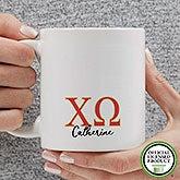 Personalized Chi Omega Coffee Mugs - 20276