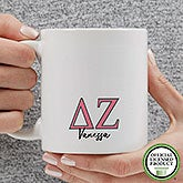 Personalized Delta Zeta Coffee Mugs - 20279