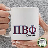 Personalized Pi Beta Phi Coffee Mugs - 20284