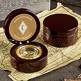 Engraved Monogram Compass - Executive Series - 20328