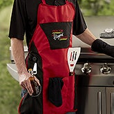 Personalized Grill Apron Set - Flippin' Awesome - 20461