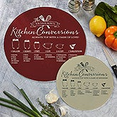 Kitchen Conversions Personalized Glass Cutting Boards - 20465