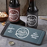 Groomsmen Brewing Co. Personalized Can & Bottle Wrap - 20494