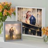 Personalized Wedding Photo LED Light Shadow Box - 20535