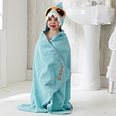 Personalized Shark Hooded Bath Towel - 20538