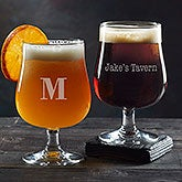 Personalized Belgium Craft Beer Glass - Classic Celebrations - 20540