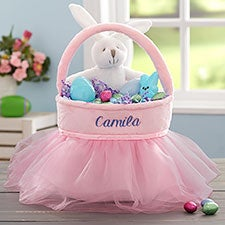 Personalized Tutu Easter Baskets - 20580