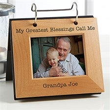 Personalized Photo Flip Album For Him - 20600