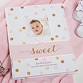 Personalized Baby Girl Memory Book - Sweet Sparkle - 20628