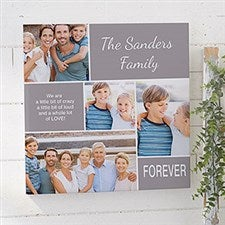 Custom Photo Collage Canvas Prints - Family Love - 20631