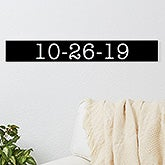 Personalized Date Wooden Sign - 20642