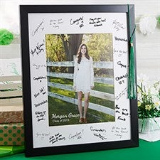 Personalized Signature Picture Frame - Graduation Party - 20649