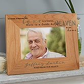 Personalized Wood Memorial Picture Frames - 20653