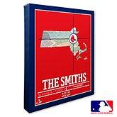 Boston Red Sox Personalized MLB Wall Art - 20697