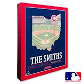 Cleveland Indians Personalized MLB Wall Art - 20701
