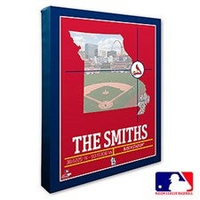 St. Louis Cardinals Personalized MLB Wall Art - 20719