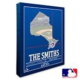 Toronto Blue Jays Personalized MLB Wall Art - 20722