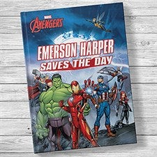 Marvel's The Avengers: (Your Child) Saves the Day Kids' Book - 20730D