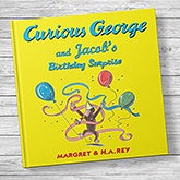 Curious George & the Birthday Surprise Personalized Kids' Book - 20736D