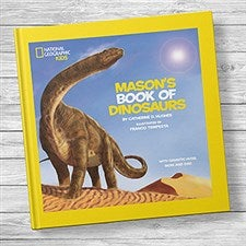 National Geographic: Personalized Kids Book of Dinosaurs - 20737D